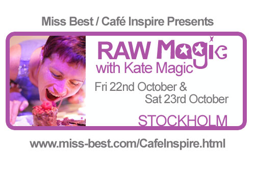 Cafe Inspire and Kate Magic