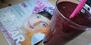 Pineapple, Blueberry and Ginger Smoothie